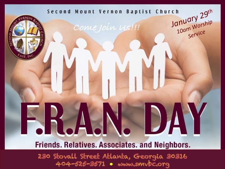 F.R.A.N. Day