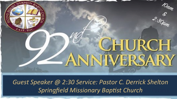 92nd Church Anniversary