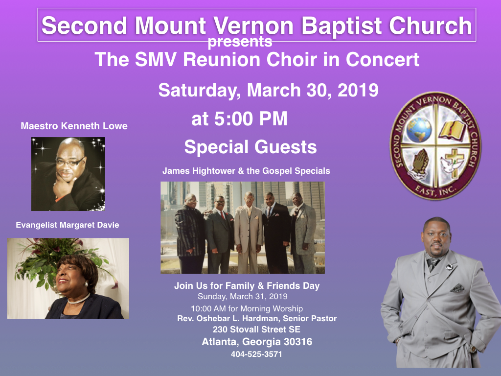 SMV Church Family & Friends Homecoming